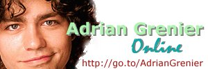 Welcome to Adrian Grenier Online!